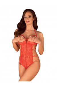 Body Ouvert Rouge Rediosa Obsessive