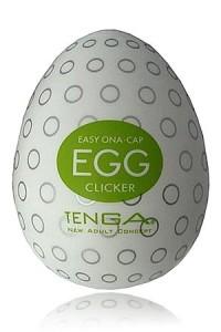 Masturbateur Homme Egg Clicker Omnidirectionnel by Tenga