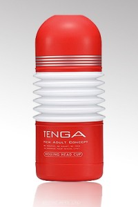 Gaine Masturbation Rolling Head Cup by Tenga