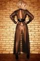 Robe Transparente Fetish Fendue by Noir Handmade