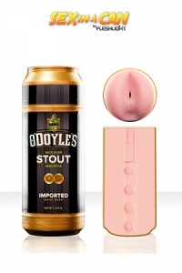 Masurbateur Homme Anus Canette Bière O'Doyle's Stout Fleshlight IM#12810