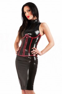 Robe Dominatrice Fetish Latex Subordination Honour