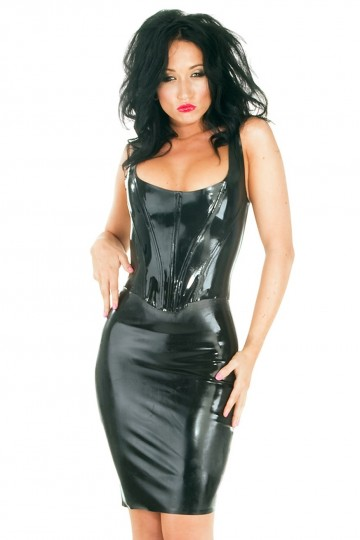 Corset Bustier Latex by Honour