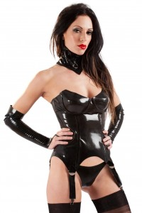 Guêpière Hot Bitch Latex by Honour