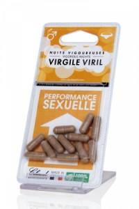 Provocateur d'érection Bio Virgil Viril - Laboratoires Claude