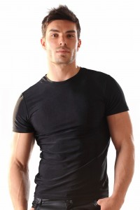 Tee Shirt Homme Moulant Lycra