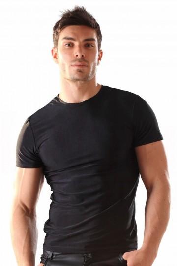 Tee Shirt Homme Moulant Lycra