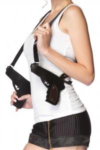 Bretelles Pistolets Gangster Sexy Leg Avenue