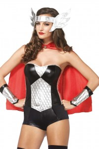 Kit Costume Femme Super Hero
