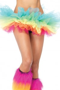 Tutu Jupon Arc en Ciel Leg Avenue