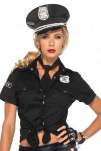 Kit Accessoires Policière Sexy et Coquine