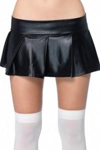 Mini Micro Jupe Jupette Plissée Ultra Sexy signée Leg Avenue