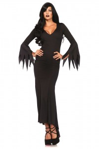 Costume Robe Gothique Morticia Leg Avenue