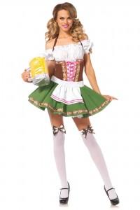 Costume Serveuse Autrichienne Bavaroise Sexy Leg Avenue
