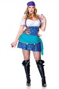 Costume Princesse Gitane et Bohème Sexy Grande Taille Leg Avenue