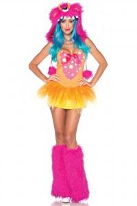 Costume Déguisement Cyclope Poilu