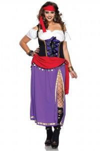 Costume Déguisement Gitane Grande Taille Leg Avenue