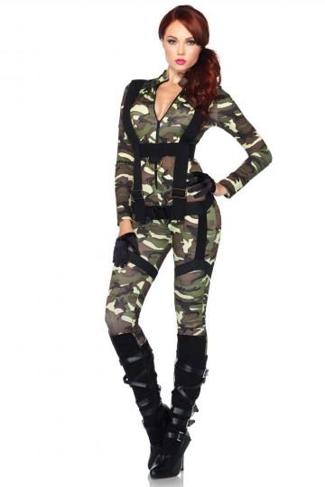 Combinaison Camouflage & Harnais