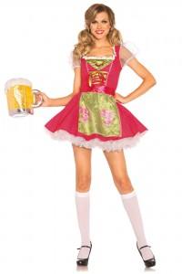 Costume Bavaroise Sexy Gretel Leg Avenue
