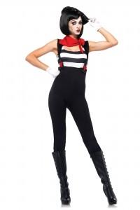 Costume Femme Mime Leg Avenue