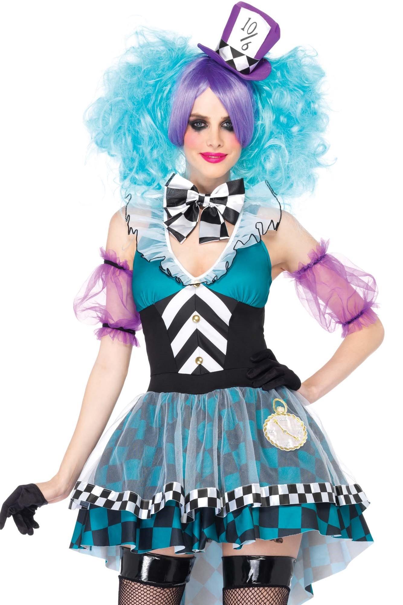 Costume Mad Mad Hatter Femme Alice Hatter Femme Costume Alice KuF3Jl1Tc5