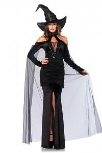 Costume Sorcière Maléfique Ultra Chic Leg Avenue