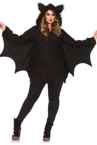 Costume Cozy Chauve Souris Grande Taille Leg Avenue