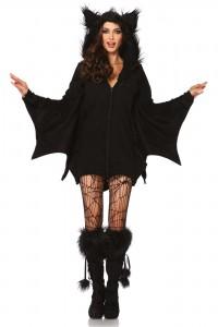 Costume Cozy Chauve Souris Leg Avenue