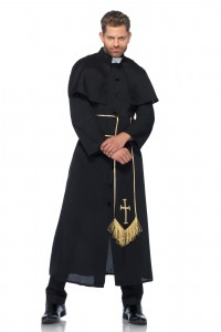 Costume Prêtre Curé Leg Avenue