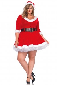 Costume Grande Taille Mère Noël Sexy by Leg Avenue