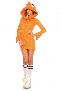 Costume Poisson Orange