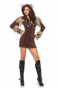 Costume Viking Femme Cosy Leg Avenue