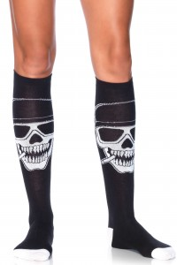Chaussettes Têtes de Mort Leg Avenue