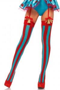 Bas Bleus et Rouge Clown Leg Avenue IM#20576