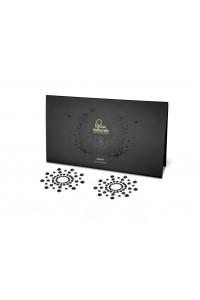 Bijoux de Seins Nipples Tétons Perles Noires Bijoux Indiscrets