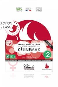 Stimulateur Sexuel Femme Provocateur Désir Flash CélineMax (2 doses)