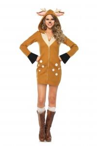 Costume de Renne Faon Cozy Leg Avenue