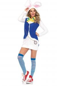 Costume Cozy Lapin Blanc Leg Avenue