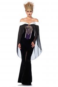 Costume Reine des Ténèbres Haut de Gamme Chic Luxe Leg Avenue