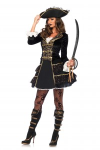 Costume Pirate des Mers Leg Avenue