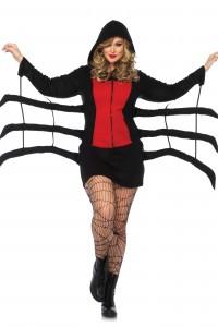 Costume Araignée Halloween Grande Taille Leg Avenue