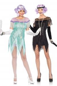 Costume Foxtrot Années 20 Leg Avenue