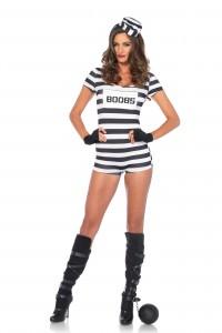Costume Prisonnière Sexy Leg Avenue Leg Avenue