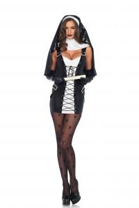 Costume Bonne Soeur Nonne Religieuse Sexy