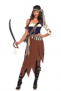 Costume Femme Pirate Caribbean Castaway Leg Avenue Leg Avenue