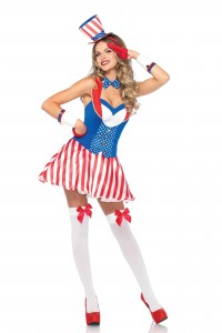 Costume UsA Yankee Doodle Sexy