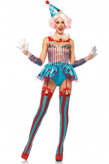Costume Cirque Clown Sexy