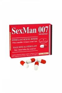 Aphrodisiaque SexMan 007 (4 gélules) Vital Perfect