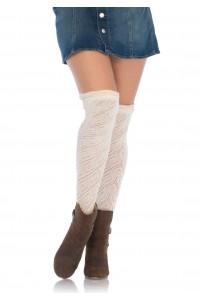 Chaussettes Hautes en Crochet Leg Avenue