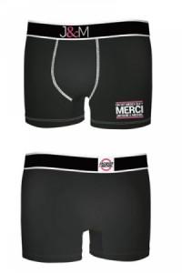Boxer Jacquie et Michel Modèle Noir N° 1